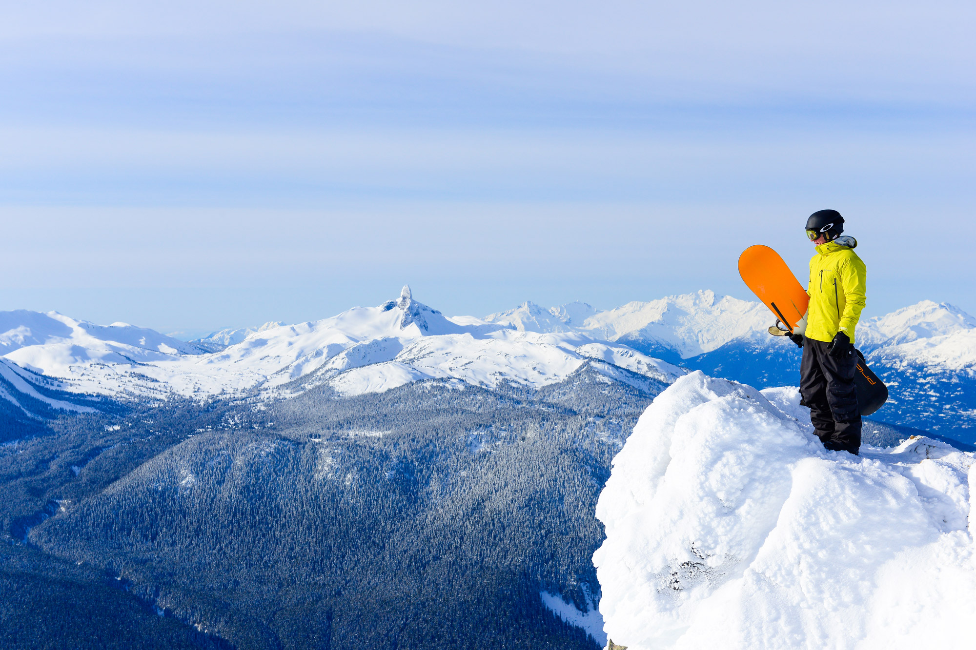 Top snowboarding spots world 39 s best winter party season for Winter vacations in the us