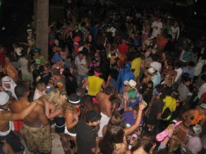 Any College Campus Halloween Party