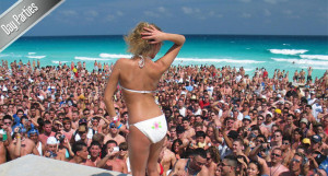 Spring Break Cancun Day Parties